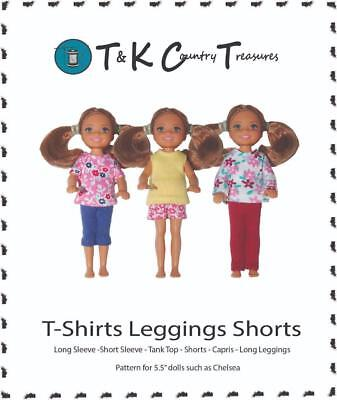 Sewing Pattern For Curvy Barbie Fashionista Doll Clothes By Tkct