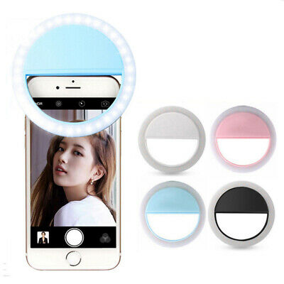 Clip Selfie Light Ring Brightness With 36 LED Bulbs for Phone/Tablet/iPad/Laptop