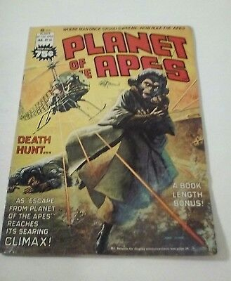 1976 Planet Of The Apes Magazine # 16 * Free Shipping In Canada & Usa Mainland *