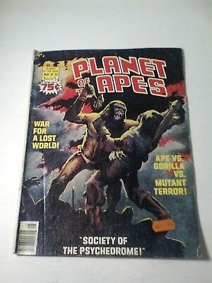 1976 Planet Of The Apes Magazine # 20 * Free Shipping In Canada & Usa Mainland *