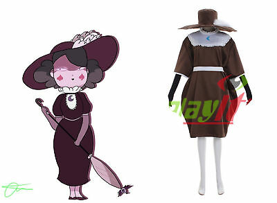 Star vs. the Forces of Evil Eclipsa Butterfly Cosplay costume dress custom made