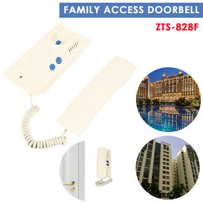 Unlock Two-Way Conversation Door Bell Home Two Wires Durable Communication