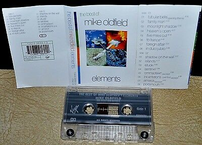 The Best of MIKE OLDFIELD      - ELEMENTS -                        Cassette Tape