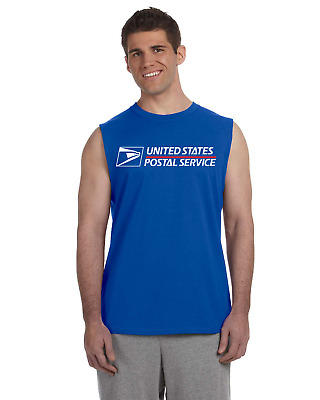 USPS Sleeveless Postal Shirts - 6 COLORS! BUY 2 GET 1 FREE! (must add 3 to cart)