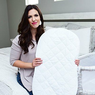 Best Halo Bassinet Mattress Pad - & Sheet Cover Protector, Waterproof Fitted She