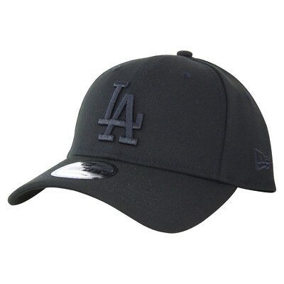 New Era LA Dodgers 940 Strapback Cap - Black/Black