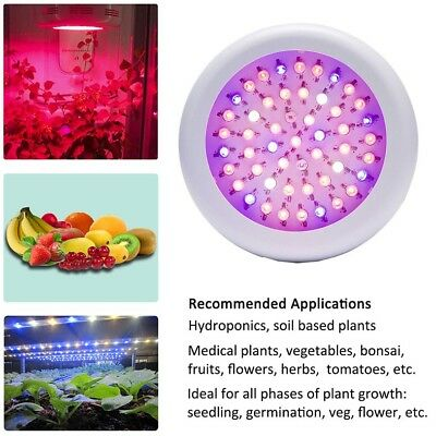 Full Spectrum UFO LED Grow Light Hydroponic Indoor Plant Lighting Lamp 150W AU
