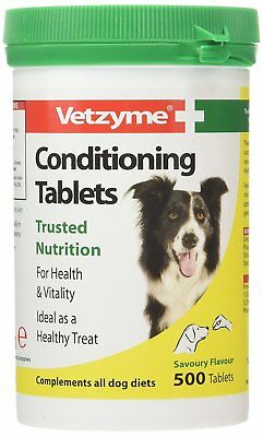 Vetzyme Conditioning Tablets, 500 Tablets source of b-complex vitamins for dogs