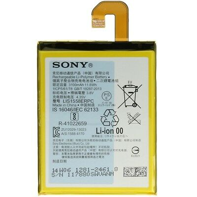 100x ORIGINAL SONY XPERIA Z3 HANDY AKKU BATTERY LIS1558ERPC *SONDERPOSTEN*