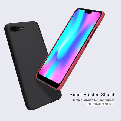 Nillkin Frosted Shield Shockproof Durable Back Case Cover For Huawei Honor 10
