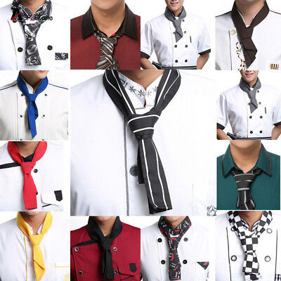 Blesiya Professional Chef Scarf / Restaurant Cafe Catering Waiter Scarf
