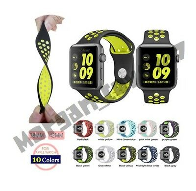 Replica Nike Style Straps for Apple Watch  ***High Quality*** UK SELLER
