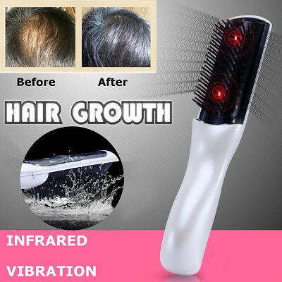 Wireless Laser Infrared Hair Growth Regrowth Therapy Treatment Massage Comb NEW