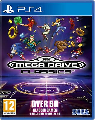 SEGA Mega Drive Classics (PS4) New & Sealed UK PAL Free UK Postage