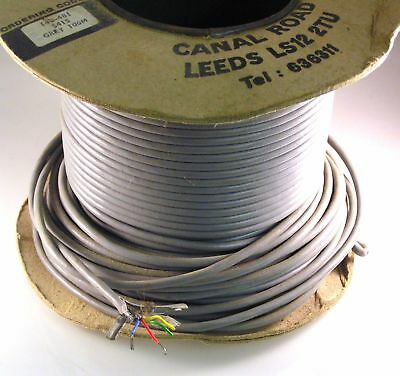 Farnell 140-481 Grey PVC Cable 4 x 7/34AWG Core Screened 3 metres OMR5-02