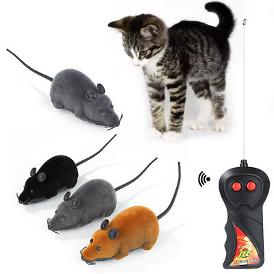Wireless RC Remote Control Electronic Rat Mouse Toy for Cat Puppy Gift Great rh6