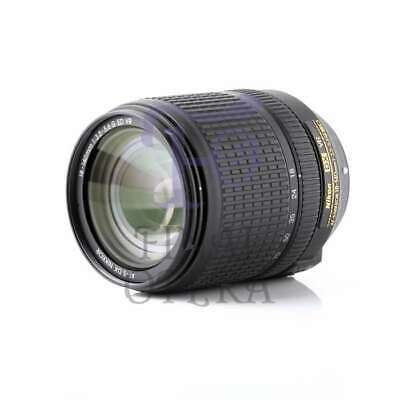 Autentico Nikon AF-S DX NIKKOR 18-140mm f/3.5-5.6G ED VR Lens (Gold Retail Box)