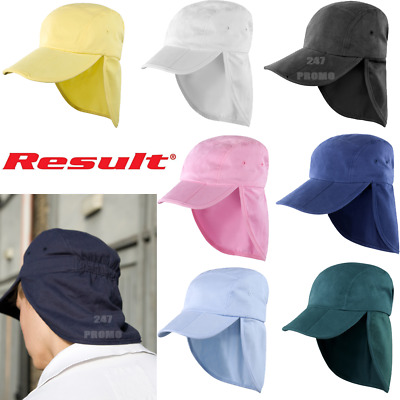 Legionnaire Hat Cap Neck Flap Ear Cover Foldable Sun Protection Summer Holiday
