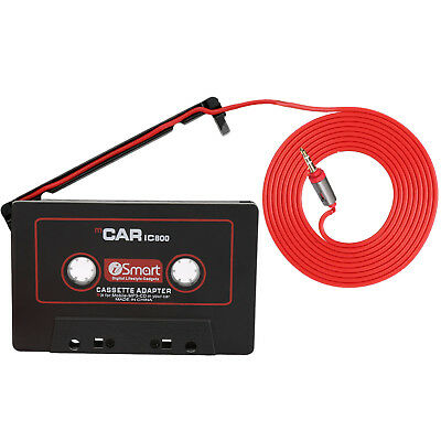 Car Audio Tape Cassette to Jack AUX for IPOD MP3 IPhone 3.5mm Connector UK New