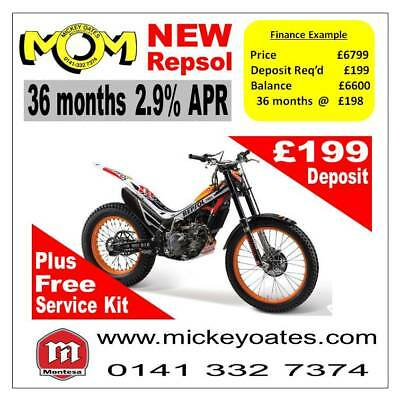 New 2018 Montesa Repsol 260 4rt + up to 36 Months 2.9% APR Finance