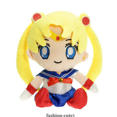 Anime Sailor Moon Moonlight Memory Plush Soft Doll Toy Keychain Keyring Charm