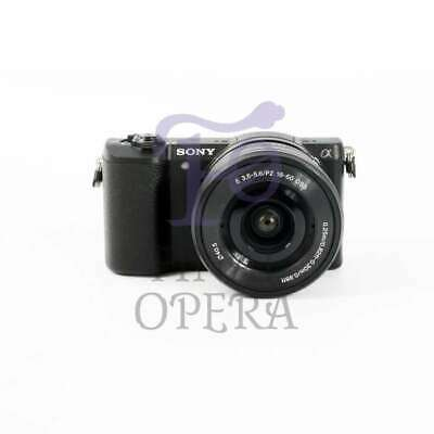 Autentico Sony Alpha a5100 Mirrorless Digital Camera with 16-50mm Lens (Black)