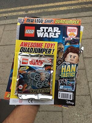 Lego Star Wars Magazine Issue 35 June 2018 Free Dwarf Spider Droid + Bonus Fig