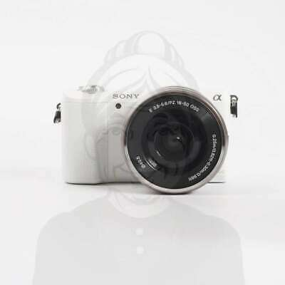 Autentico Sony Alpha a5100 Mirrorless Digital Camera with 16-50mm Lens (White)