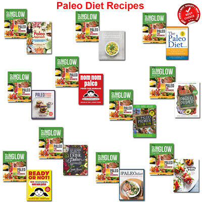 Paleo Diet Recipes books set Cookbook collection Weight Loss for Beginners Guide