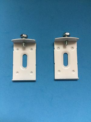 Vertical Blind Top Fix Brackets With Screw For Wide Bodied