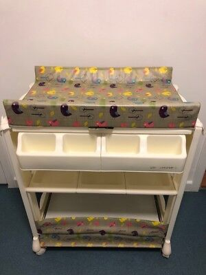 OASIS BABY CHANGING Unit With Storage & Integrated Baby Bath ...