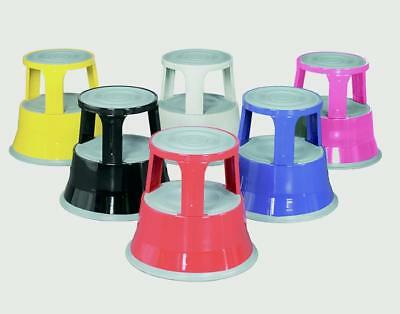 Barton Topstep Steel Kickstool Steps, Black T1BLK, Red T1RED, Blue T1BLUE & Grey