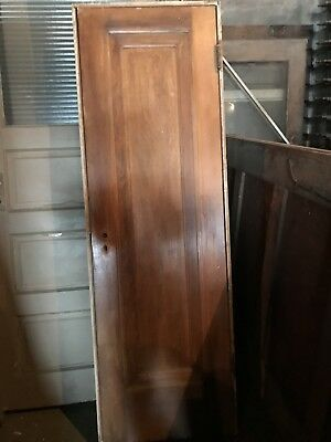 "Antique Single Panel Miracle Door In Original Finish. 24"" And 30"".Architectural"