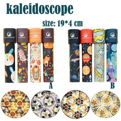 Rotating Kaleidoscope Rotation Fancy World Baby Toy Kids Autism Kids Toys Funny