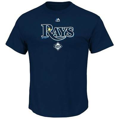 Majestic Tampa Bay Rays Series Sweep MLB T-Shirt Navy