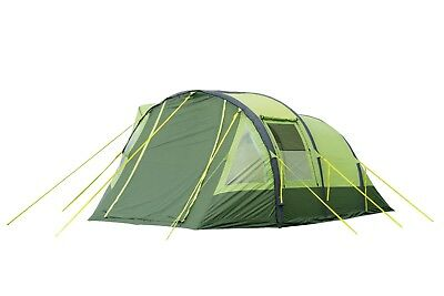 Inflatable Tent 4 Berth Family/festival Tent - Olpro Abberley Xl Breeze (Green)