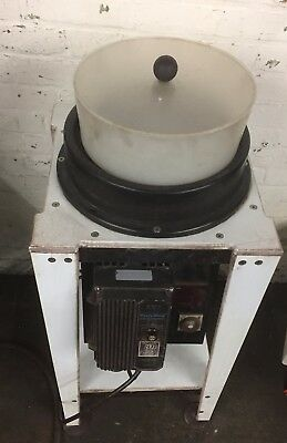 "ORO GOLD 11"" Magnetic Parts Vibratory Finishing Tumbler Tumbling/Deburring"
