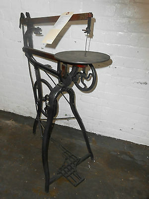 Antique -  Foot Operated Reciprocating Scroll Saw, Excellent condition!