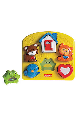 Brand New Fisher Price Brilliant Basics Activity Puzzle Baby Toy 12-36 Months