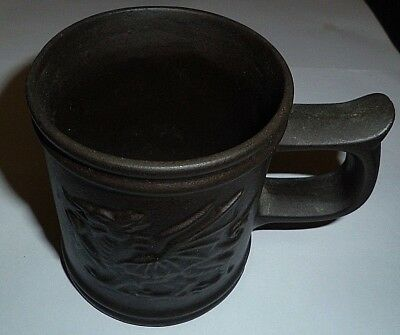 Tyn Llan Welsh Studio Pottery Mug, Celtic Dragon