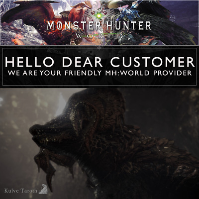 Monster Hunter World (MHW) | Kulve Taroth Farming | Siege Completion | PS4