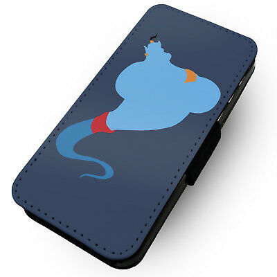 Genie Silhouette - Printed Faux Leather Flip Phone Case #2