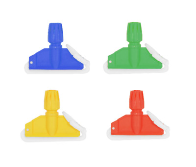 Kentucky Mop Clip Plastic Red/yellow/blue/green Mophead Cleaning 1-10 Free P&p