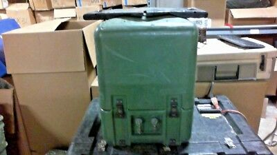 Hardigg Pelican Military Used Storage Case w/ Electronic Outputs, Green