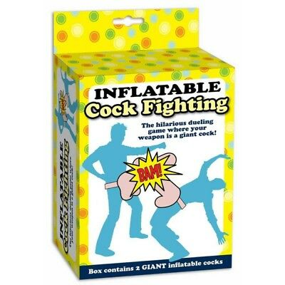 Inflatable Cock Fighting Game - 27468 Hilarious Duelling Freshers Week Student