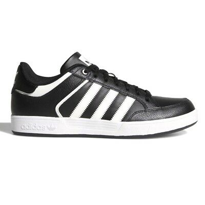 innovative design 279bc d7b98 Adidas Varial Low Men s Athletic Shoes Sneakers Black Leather CQ1145
