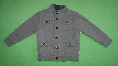 Ted Baker grey jacket hoodie jumper for boy age 5-6 years 116cm