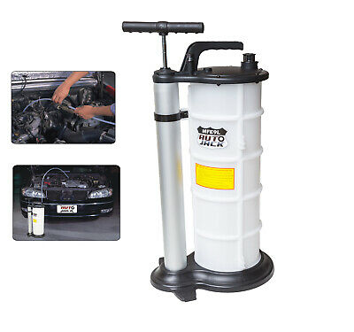 9 Litre Vacuum Oil Fluid Extractor Transfer Pump Car Fuel Petrol