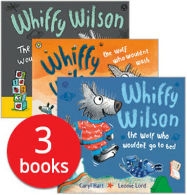 Whiffy Wilson Collection - 3 Books