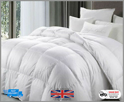 **Special Offer** Goose Feather & Down Duvet Quilt  Extra Warm 15 Tog Clearance